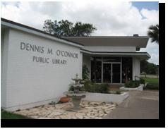 Dennis M. O'Connor Public Library Logo