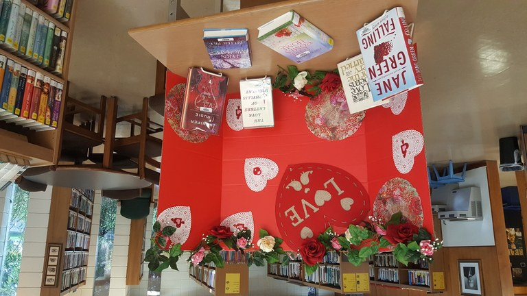 Valentine Book Display.jpg